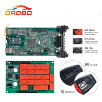 TCS V3.0 NEC Relay Pro Green Board Bluetooth Diagnostic Tool 2016R1/2015.R3 Software for CAR/TRUCK OBDII Car Scanner
