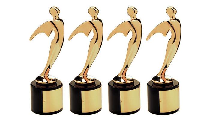 1990-es Telly Awards, Replica Telly trófea díjak, fémmel - Lakberendezés