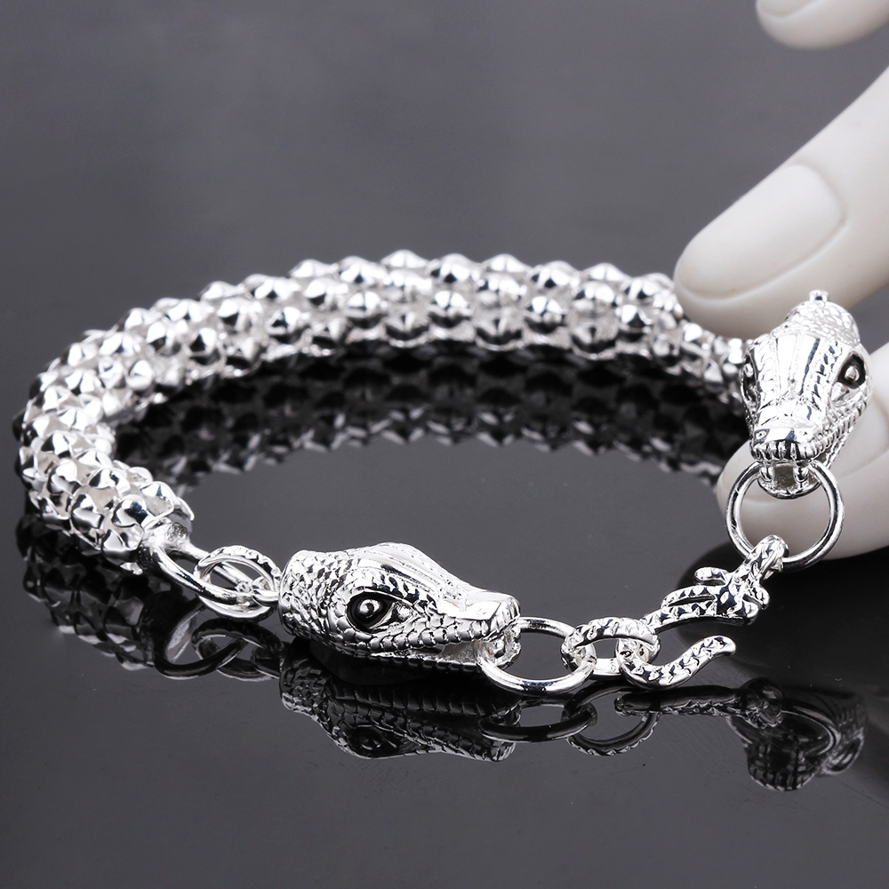 Bracelet silver for men with price photo