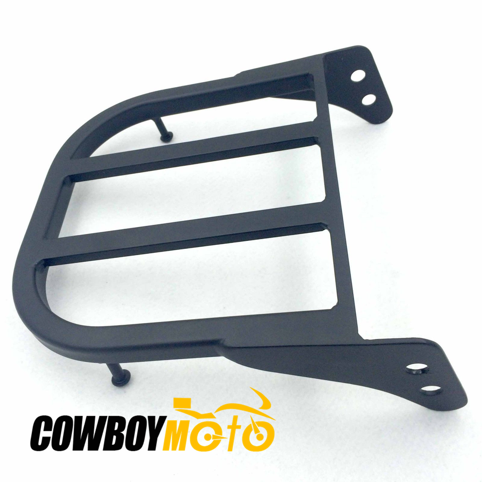 Black Sissy Bar Luggage Rack For Suzuki Marauder VZ800 / Boulevard C50 / C90 / C50 / M50 luggage
