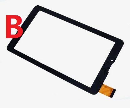 Two versions Original Capacitive touch screen digitizer touch panel glass sensor for 7 Irbis TZ55 Tablet Free Shipping original new touch screen 7 inch irbis tx50 tx55 tx34 3g tablet capacitive touch panel digitizer glass sensor free shipping
