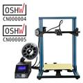 Gran venta Creality impresora 3D marco de Metal completo CR-10S filamento de impresora Detección de continuación de impresión apagado opcional con doble Z rod