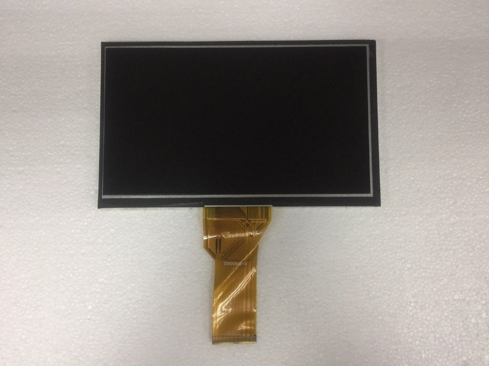 A+Tested 7 inch tablet pc LCD display for innolux AT070TN94 AT070TN93 AT070TN92 flex cable 20000600-12 LCD screen 165*100*5mm a gauge 7 inch lcd at070tn94 highlight navigation screen screen