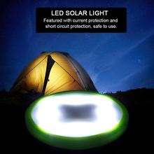 10LED Solar Camping Light Portable Outdoor Camping Hiking Lamp Lantern Camping Tent Light with Suction Cup 4pcs led camping tent pavilion lantern yard outdoor hiking tent light camping hanging lamp