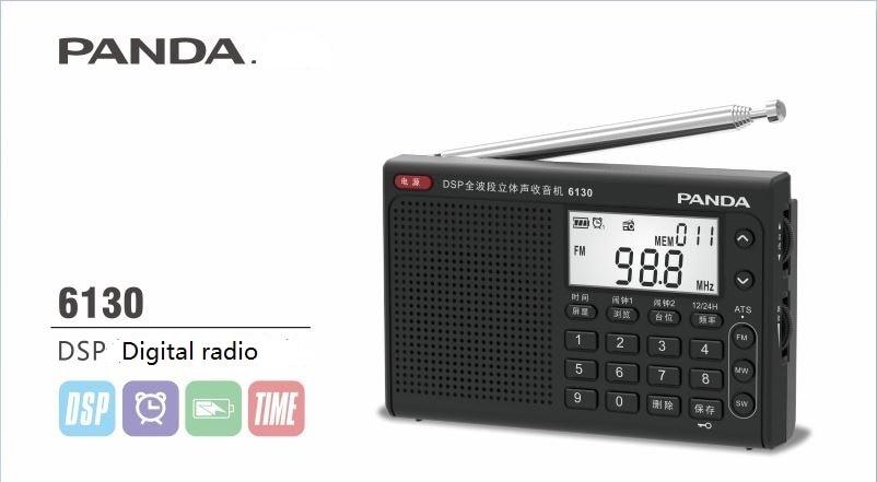 Panda/panda 6130 the elderly full band radio campus radio english listening test