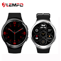 So Cool! mtk6580 lemfo x3 mais android 5.1 smart watch phone 1 gb + 8 gb suporte 3g wifi cartão sim nano bluetooth smartwatch
