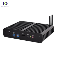 Windows 10 Mini pc i7 5550U i7 4500U 4600U Barebone HTPC Intel Nuc Fanless Computer Broadwell Graphics HD 5500 Nettop PC Wifi
