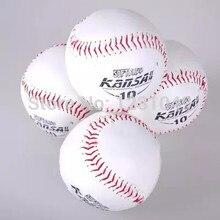 10 Pcs size10 wholesale Brand New White Baseball Practice Training competition softball Sport Team Game beisebol