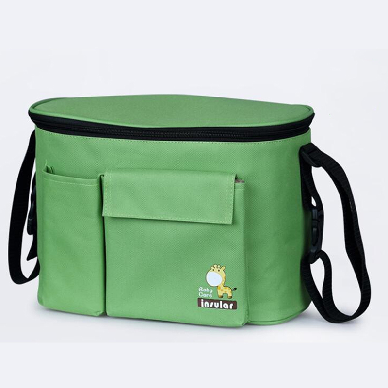 Diaper-Bags Insulation Baby Waterproof for Strollers