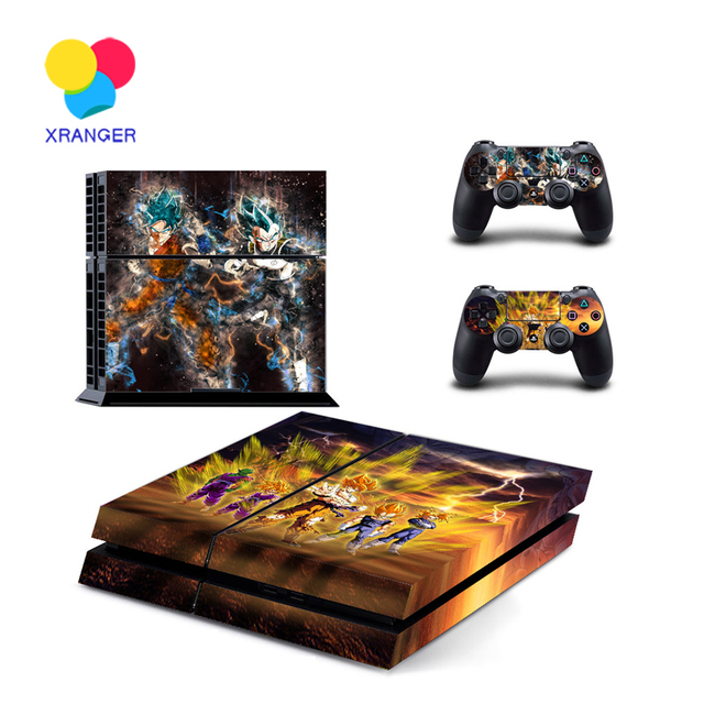 Dragon Ball Z Stickers for PS4