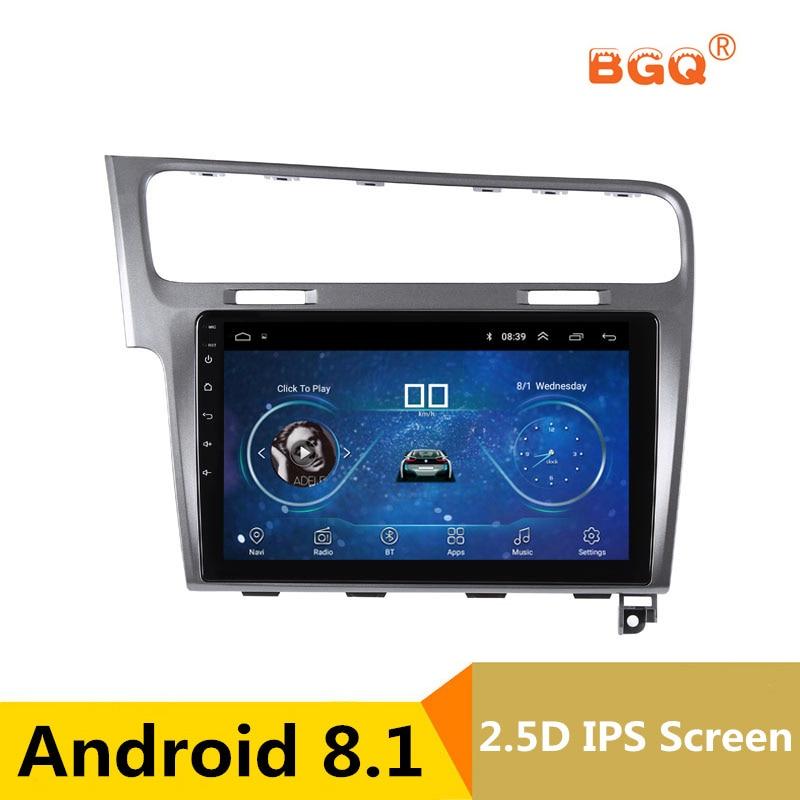 10,1 android автомобильный DVD мультимедийный плеер gps для Volkswagen VW Golf 7 2013 2014 2015 Аудио автомобилей Радио стерео навигатор bluetooth