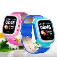 Kids Smart Watch Phone GPS Positioning Watch Mobile Phone Touch Screen WIFI SOS Baby Watch Smartwatch for Apple Samsung Huawei