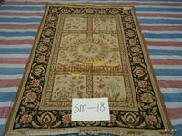 Exportar los Estados Unidos solo SUMAC Mike Do lana alfombra tejida a mano las aduanas extranjeras sm-18/1.05*1.65 M