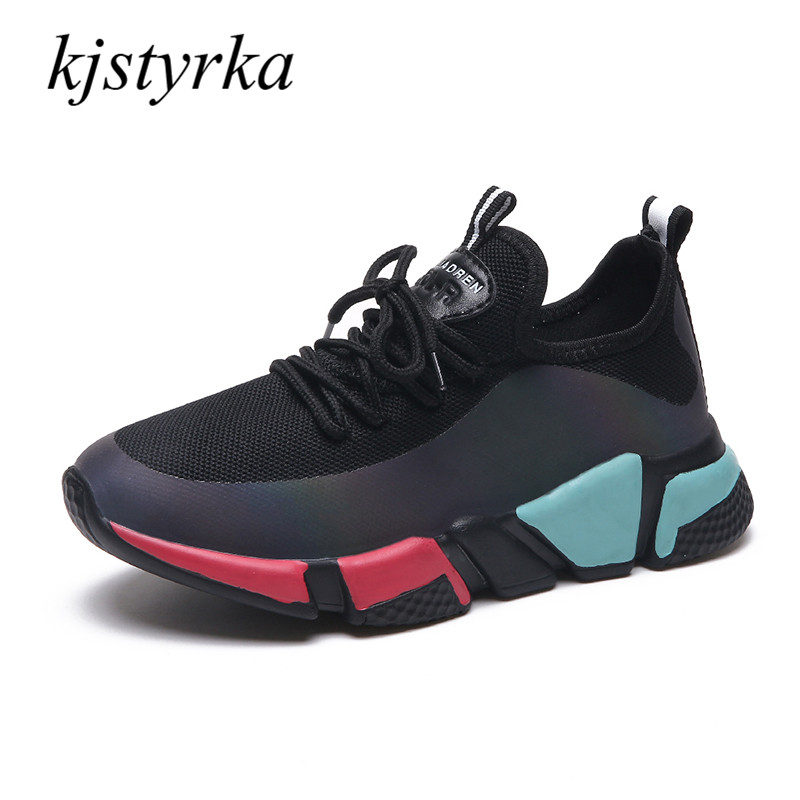 Kjstyrka 2018 fashion Spring/Autumn casual Light breathable shoes women sneakers tenis feminino shoes Female Climb zapatos mujer