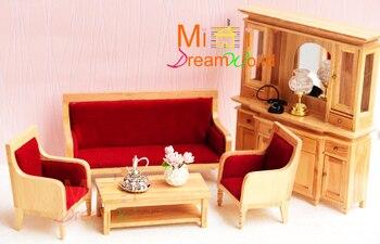 1:12 Cute MINI Dollhouse Miniature Furniture accessories dollhouse decoration Furniture 4pcs