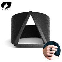 Горячая Распродажа, мужские кольца, Ретро стиль, геометрический треугольник, кольца на палец для мужчин, модное черное кольцо, мужские ювелирные аксессуары