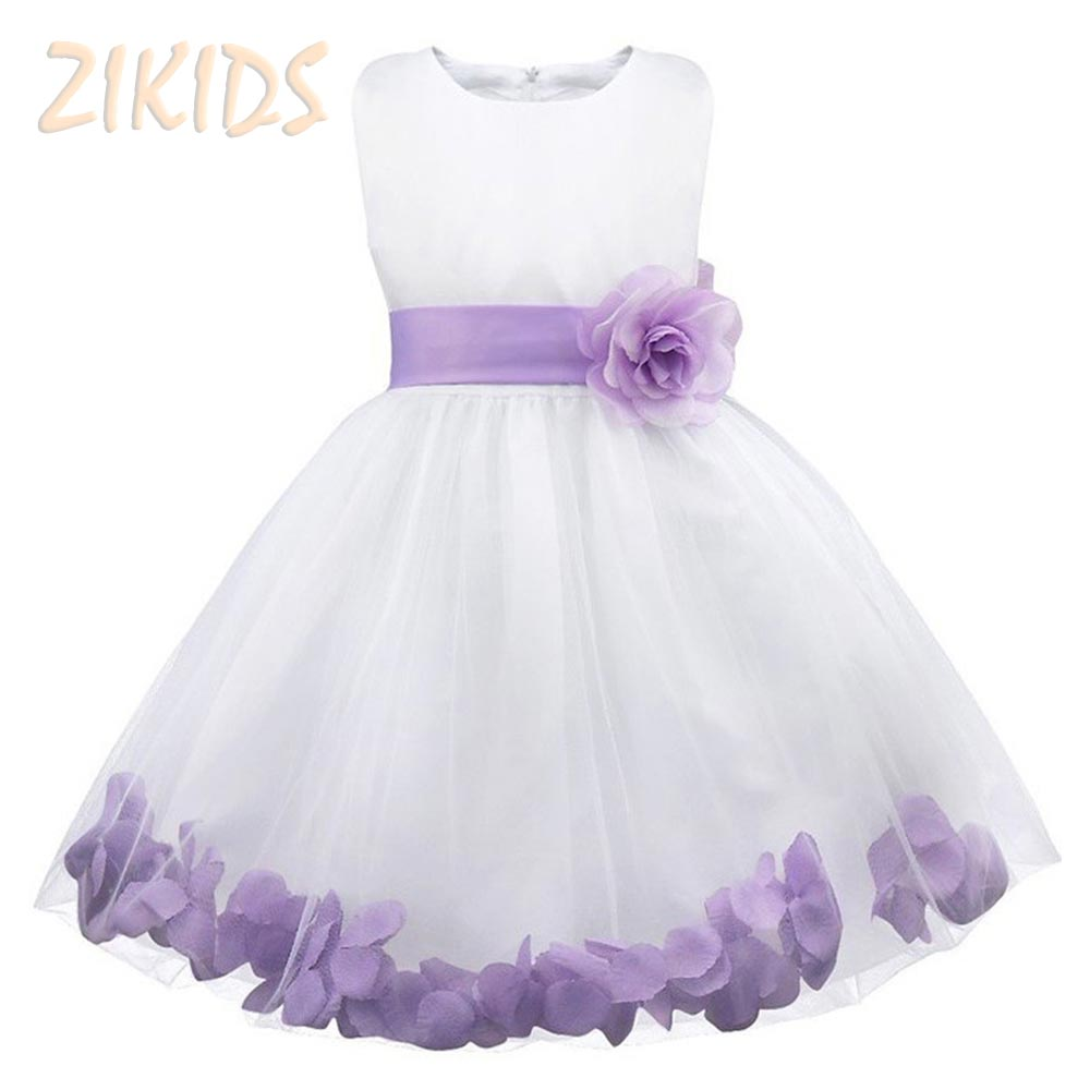 Flower Girl Dresses for Weddings Party Ball Gown Dress Girls Princess Costume with Sleeveless Kids Spring Clothes 2017 Hot Sale new arrival hot sale toddler princess girls sleeveless ball gown costume latin show fashion formal dancing dress