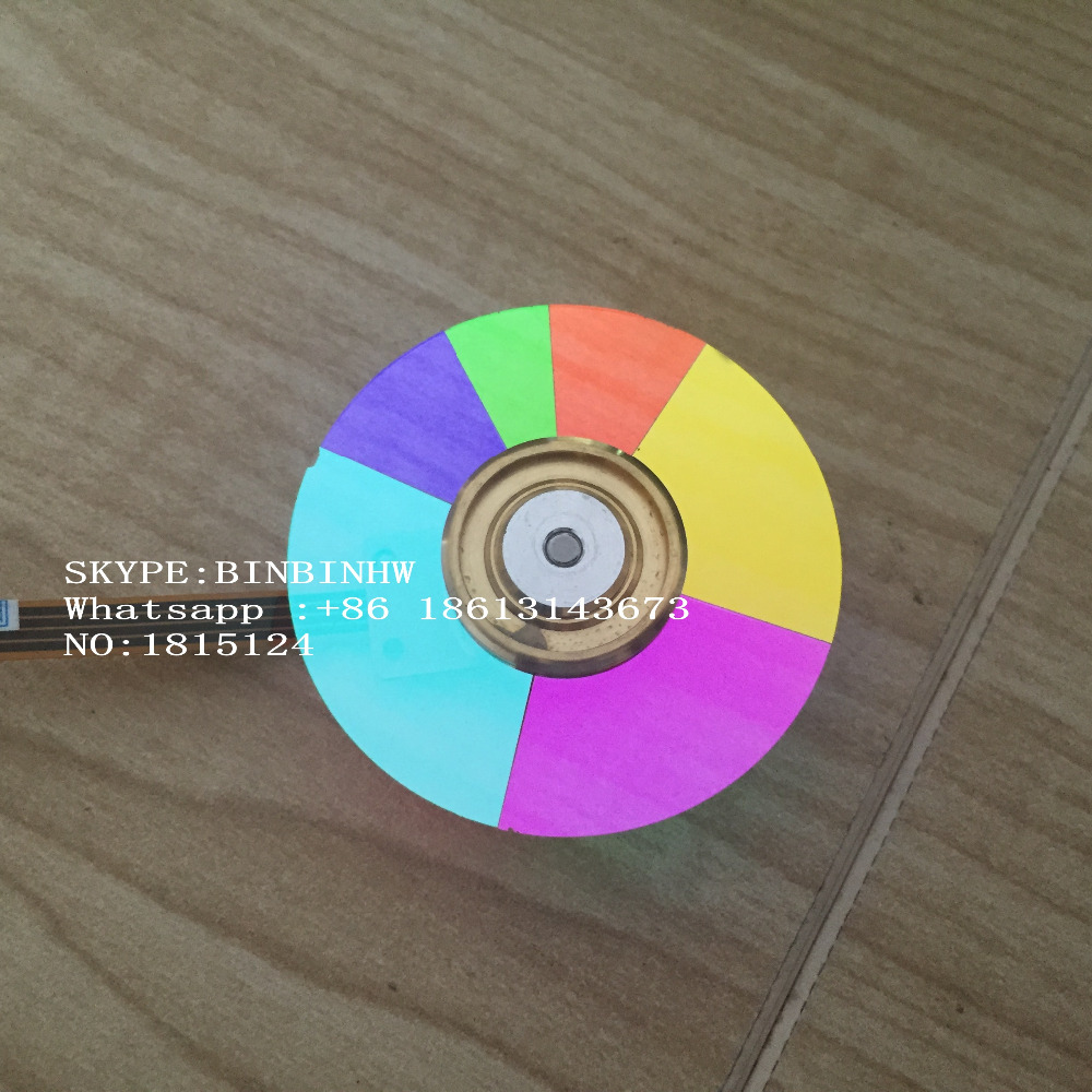 100% NEW Original Projector Color Wheel for Benq W1000+ wheel color brand new color wheel module fit for benq mp610 projector