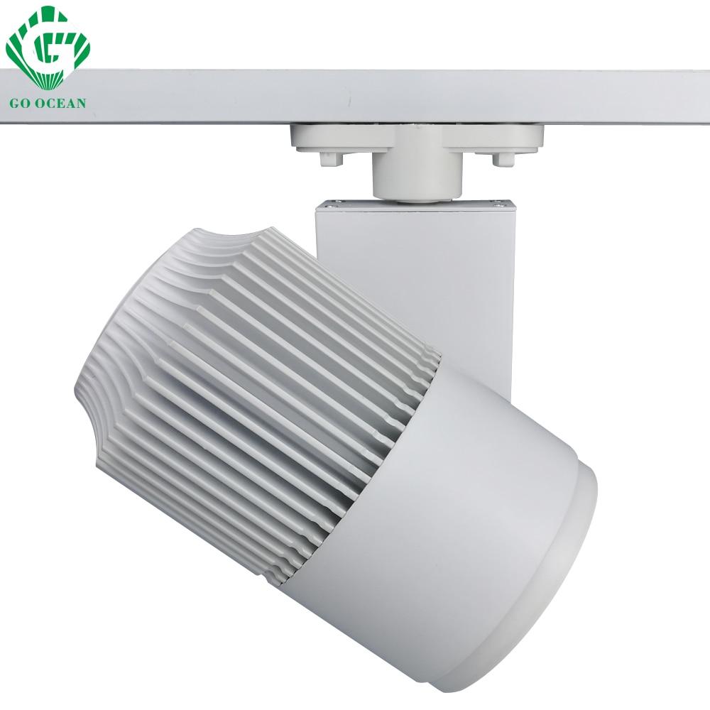 geh weg spot dimmbare beleuchtung am draht techo 30w track lampe ...