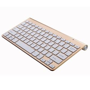 Image 4 - Teclado inalámbrico portátil para Mac portátil caja de TV 2,4G Mini teclado y ratón de suministros de oficina para IOS Android ganar 7 10