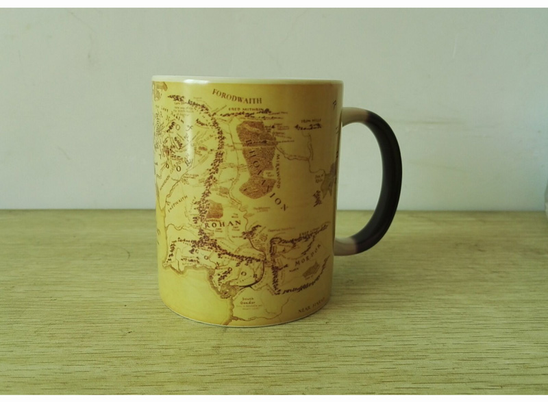 Middle Earth Map Lord Of The Rings Color Changing Morph