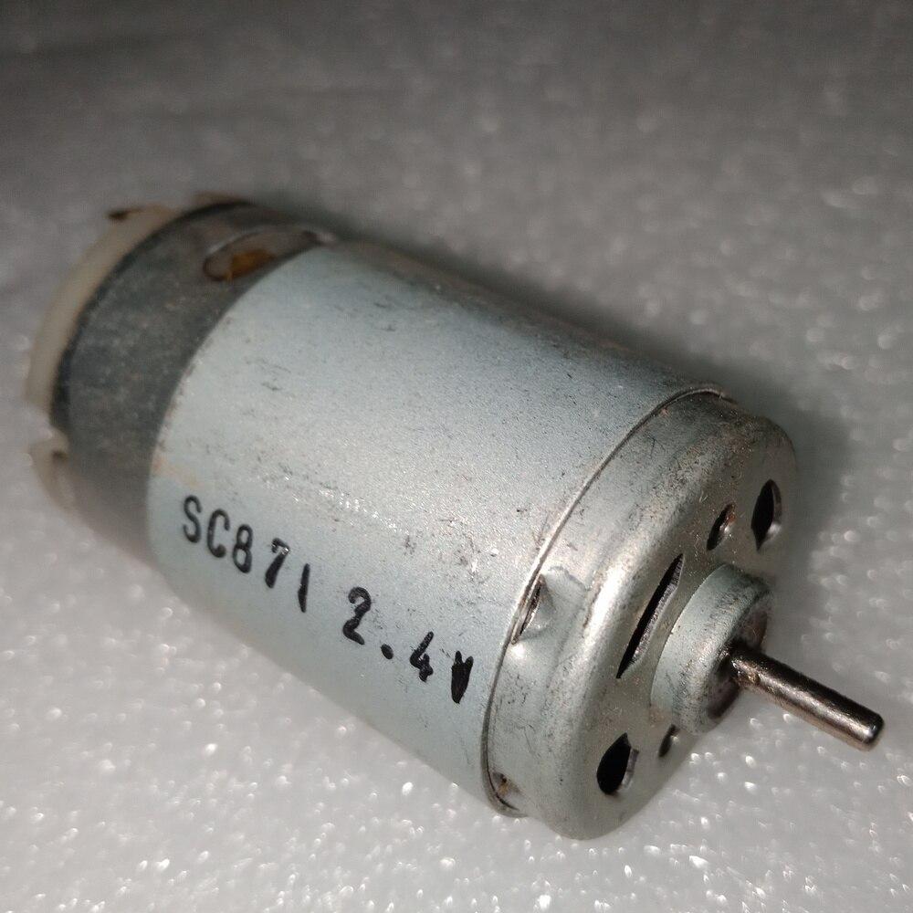390 dc motor DC7.2V high power high speed motor DIY vehicle model mini permanent magnet powerfull free shipping