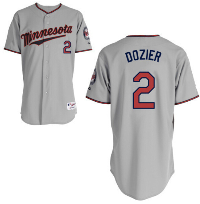 2 brian dozier jersey minnesota twins dozier 2015 authentic stitched baseball shirt white blue grey