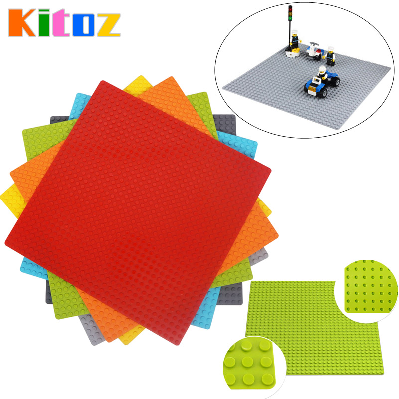 Kitoz 32x32 Dot Base Plate Large Size Big Baseplate Bottom Board For Figure DIY Building Block Toy 100% Compatible With Lego