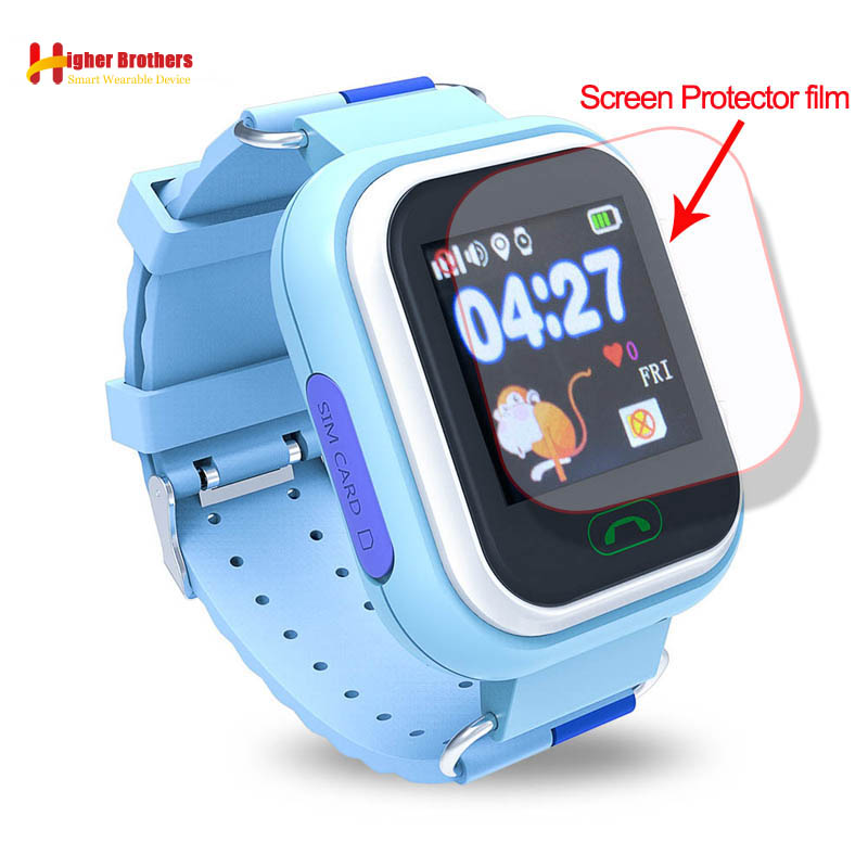 HD Glass Screen Film Protector for Q90 Q100 Q750 Q750S Baby Kids Child Smart Watch Smartwatch Glass Screen Film Protector baby kids child smart gps watch universal protection tempered smartwatch glass screen film protector case for q50 t58 y3 2pcs