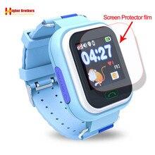 цена на HD Glass Screen Film Protector for Q90 Q100 Q750 Q750S Baby Kids Child Smart Watch Smartwatch Glass Screen Film Protector
