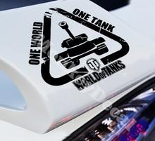 Car decals world of tanks 14x14cm car motorcycle truck vinyl waterproof outdoor stickers
