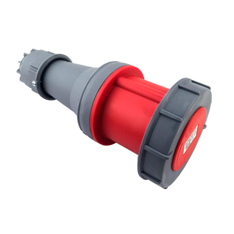125A 5Pin Novel industrial plug socket connector SFN-2452 cable connector 220-380V/240-415V~3P+N+E Waterproof IP67 63a 5pin novel industrial hide direct socket connector sfn 3352 concealed installation socket 3p n e cable connector ip67