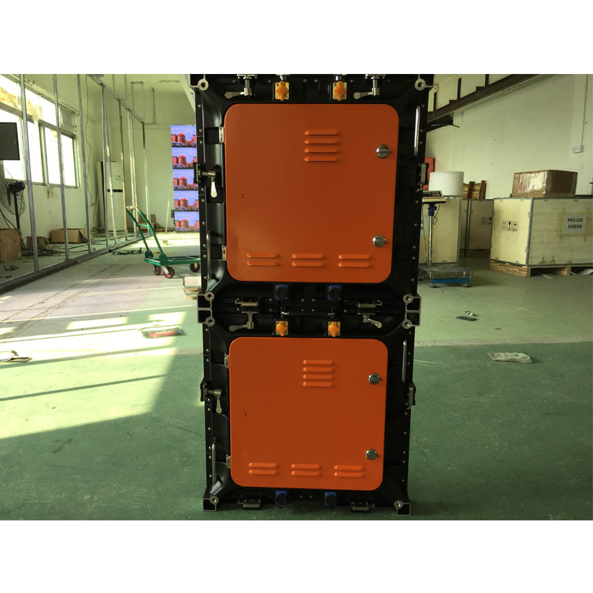 Waterproof P8 SMD Outdoor 1/4 Scan 512X512mm Die Casting Aluminum Cabinet Full Color Video Led Display Screen For Led Video Wall