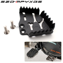 Motorcycle Accessories Rear Brake Pedal Lever Step Plate Enlarge For KTM 990 1050 1190 R SMR 1290 Super Adventure
