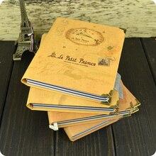 Винтажный блокнот Маленького принца, цветной бумажный дневник, школьные канцелярские принадлежности