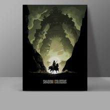 Shadow Of The Colossus Wall Pictures Video Game Canvas Painting Office HD High Quality Print Hanging Painting