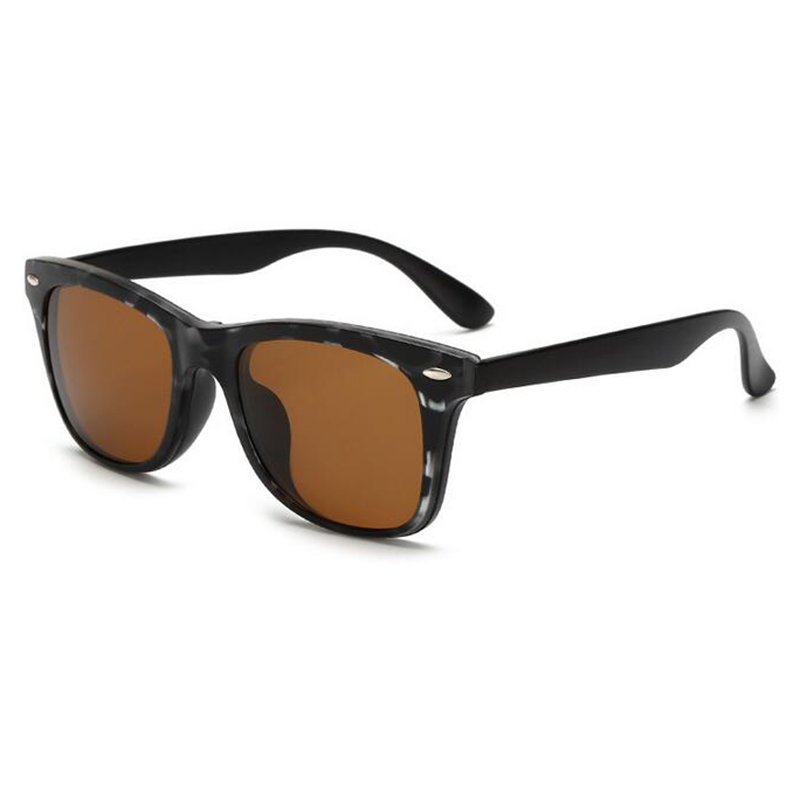New 5 in 1 Men Polarized Magnetic Sunglasses Clip TR90 Retro Frame Eyewear Night Vision Driving Optical Glasses With Bag H3