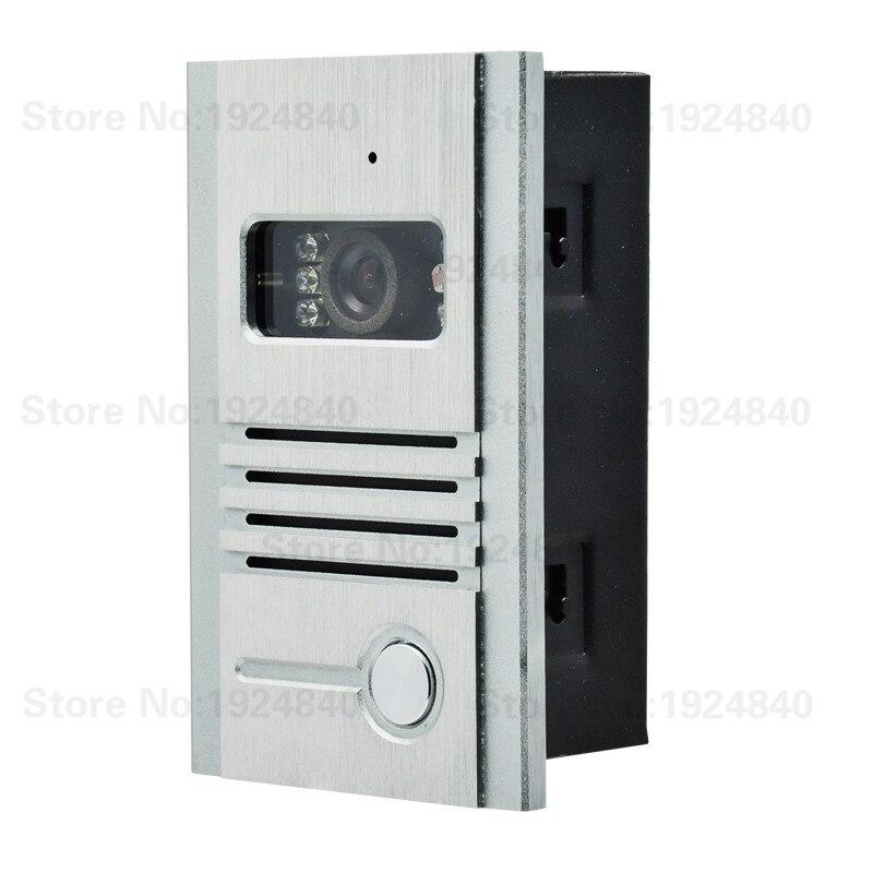 JEX VIDEO DOORBELL INTERCOM SYSTEM OUDOOR DOORPHONE C3 ONLY OUTDOOR IR CAMERA