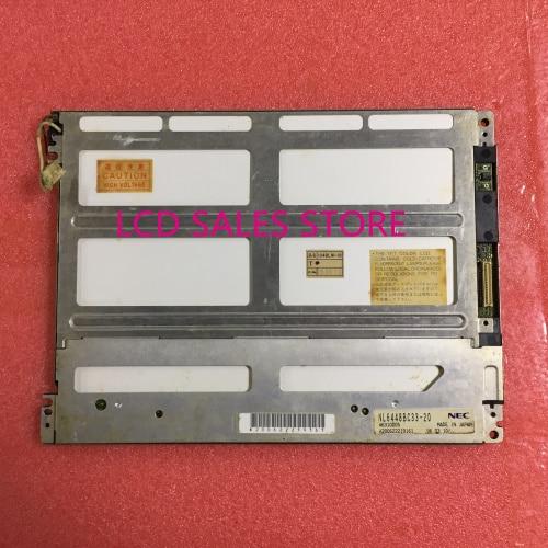 NL6448AC33-13  10.4 INCH INDUSTRIAL LCD DISPLAY SCREEN ORIGINAL   MADE IN JAPAN 41PIN 640*480  CCFL BACKLIHGT TFT 41PINS