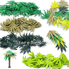 Baro Leaf Tropical Tree City lot Building Blocks AccessoriesGreening Block Garden Rainforest Military Figures Toys YouZhengle(China)