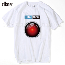 HAL 9000 t shirt Stanley Kubrick 2001 A Space Odyssey Sci Fi Dave T-Shirt Male Battery Funny Tops T Shirt Fashion