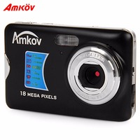 AMKOV Digital Camera 8 Megapixel 2 7 Inch TFT Display Travel Mini HD Shooting Camera Portable