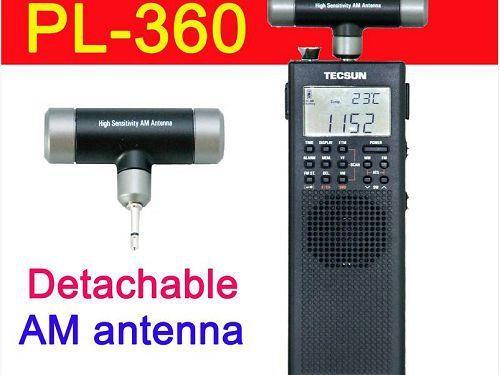 НОВЫЙ TECSUN ПЛ360 PLL DSP с ЭТМ FM/AM/SW/LW PL-360