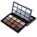 2016 New Fashion 12  Earth Color Pigment Eyeshadow Palette Cosmetic Makeup Eye Shadow for Women Top Quality