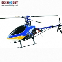 TW500 Electric Helicopter Kits Carbon Fiber Version without Canopy Prop and Electronic Equipments
