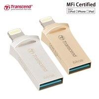 Transcend JetDrive Go 500 Lightning USB 3 1 3 0 Flash Drive 64GB For IPhone IPad