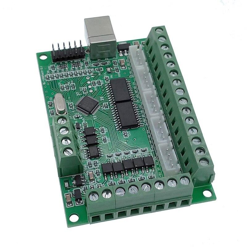 Плата драйвера с ЧПУ USB MACH3, 100 кГц, разделочная плата, 5-осевой интерфейс, драйвер, контроллер движения