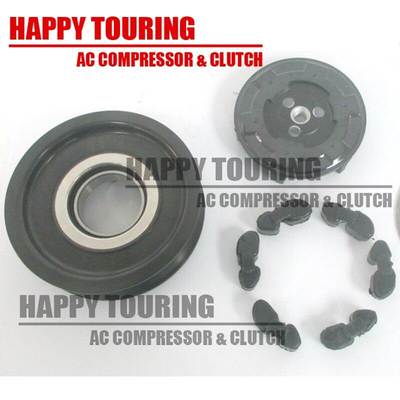7SEU17C Car a/c compressor clutch assy pulley for Mercedes W203 W209 W215 W220 0002309111 0012300011