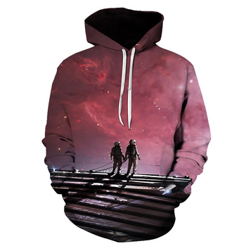 Street Fashion 3D Printed Armstrong Hoodie 1