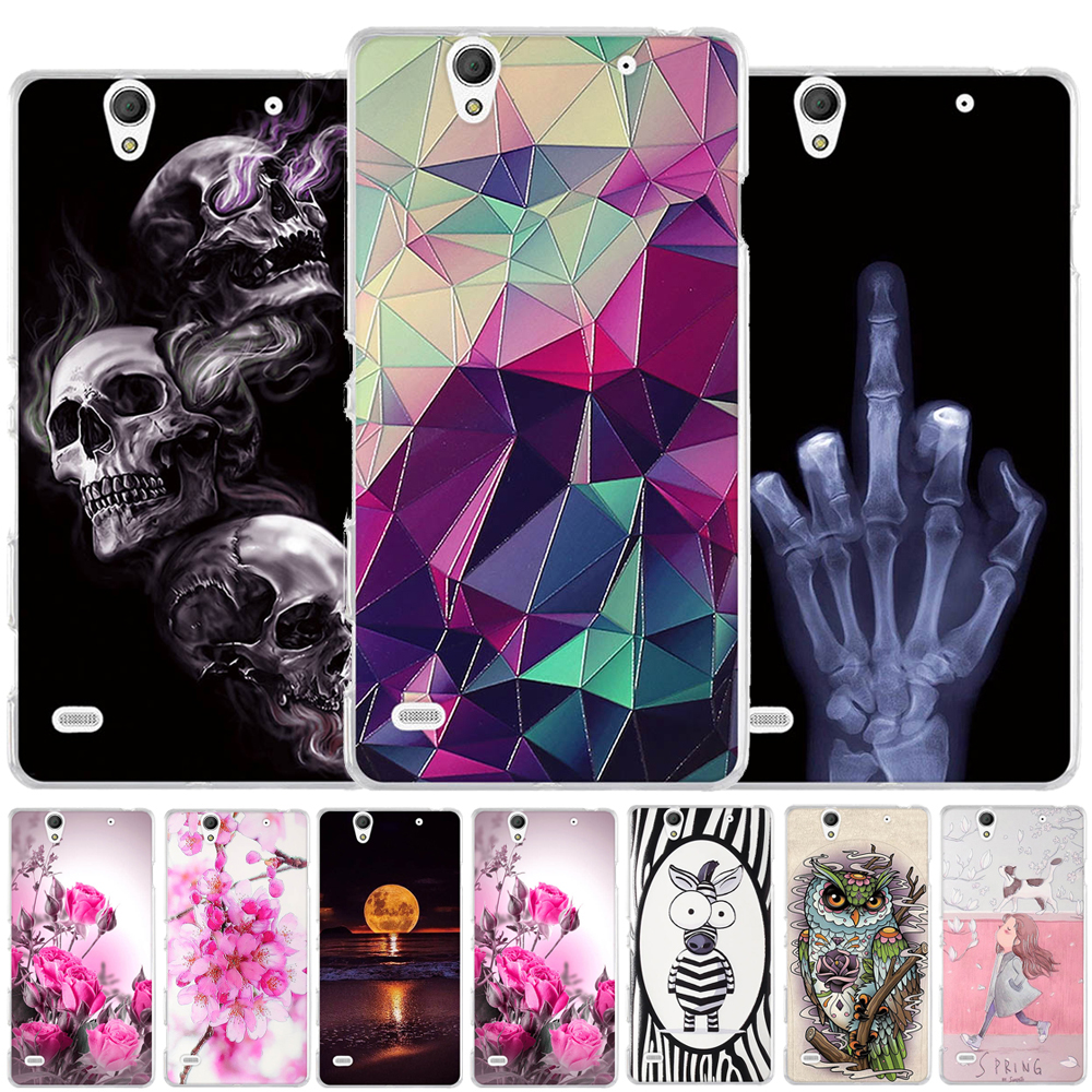 Case For <font><b>Sony</b></font> <font><b>Xperia</b></font> C4 E5303 <font><b>E5333</b></font> Case Silicon Soft TPU Cover for <font><b>Sony</b></font> <font><b>Xperia</b></font> C4 Phone Case For <font><b>Sony</b></font> <font><b>Xperia</b></font> C4 Dual Back Cover image